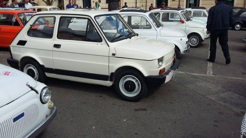 Raduno Fiat 500,derivate e auto Storiche italiane Palmi RC 24/05 510