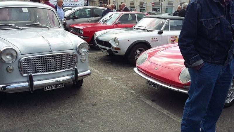 Raduno Fiat 500,derivate e auto Storiche italiane Palmi RC 24/05 610