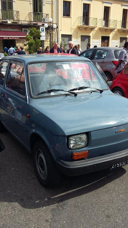 Raduno Fiat 500,derivate e auto Storiche italiane Palmi RC 24/05 810