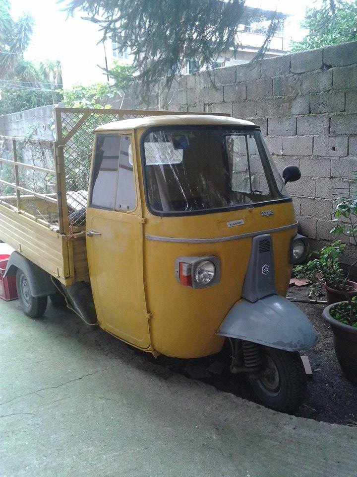 Paulfiat's Garage  Ape10