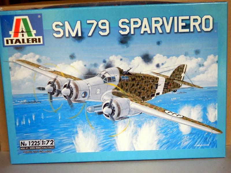 """[ITALERI] SM 79 SPARVIERO """"Aerosiluranti"""" Sm_00110"""