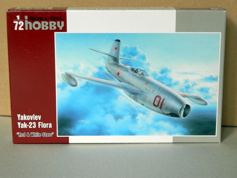 "[Special hobby]  YAK 23 ""Flora"" Yak_2310"