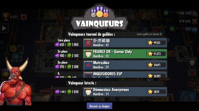 TOURNOI #39 ,2nd place pour fdkgo et Manu vainqueur du Horny avec Eville Screen21