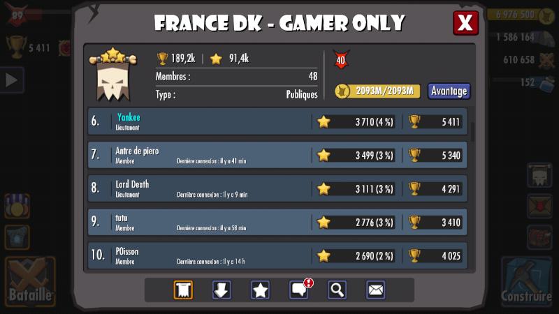 TOURNOI #39 ,2nd place pour fdkgo et Manu vainqueur du Horny avec Eville Screen31