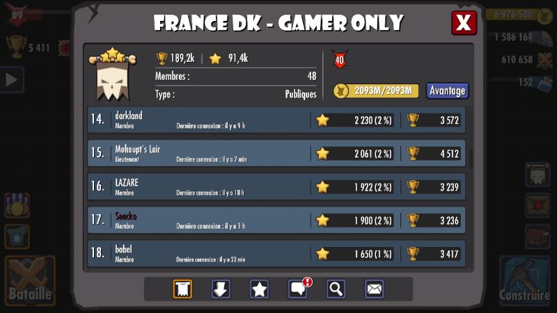 TOURNOI #39 ,2nd place pour fdkgo et Manu vainqueur du Horny avec Eville Screen33