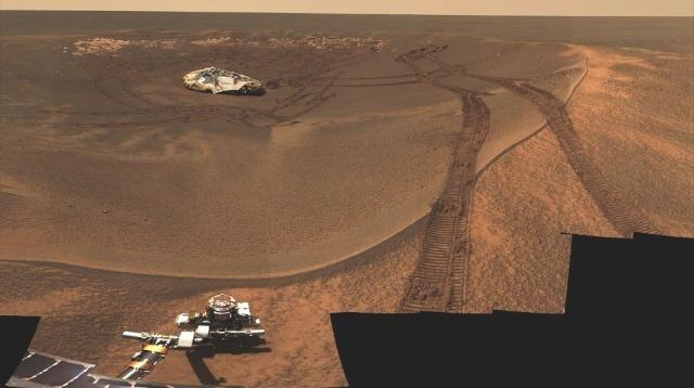 Opportunity et l'exploration du cratère Endeavour - Page 9 93082110