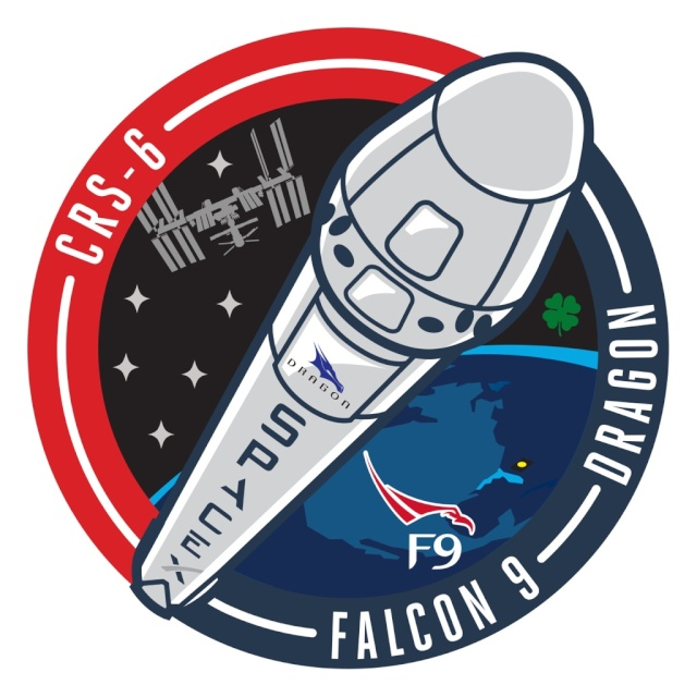Lancement Falcon 9 / CRS-6 - 14 avril 2015 Patchc11