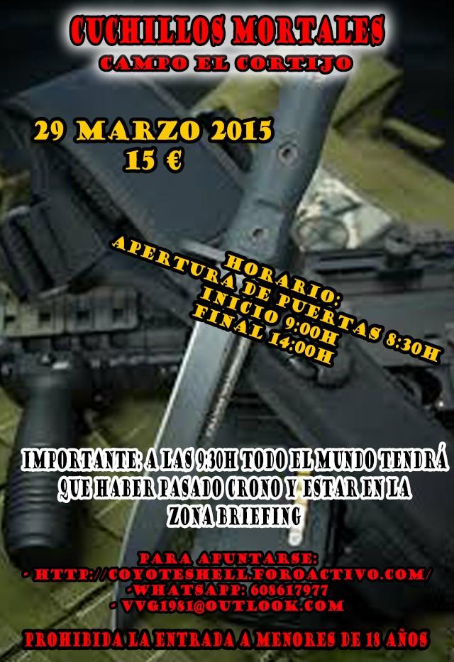 Cuchillos mortales, partida abierta  29.03.15 campo El Cortijo Cuchil10