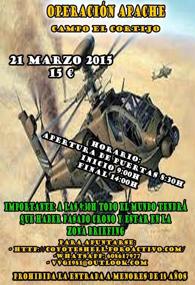 Operación apache, partida abierta 21.03.15 campo El Cortijo Operac10