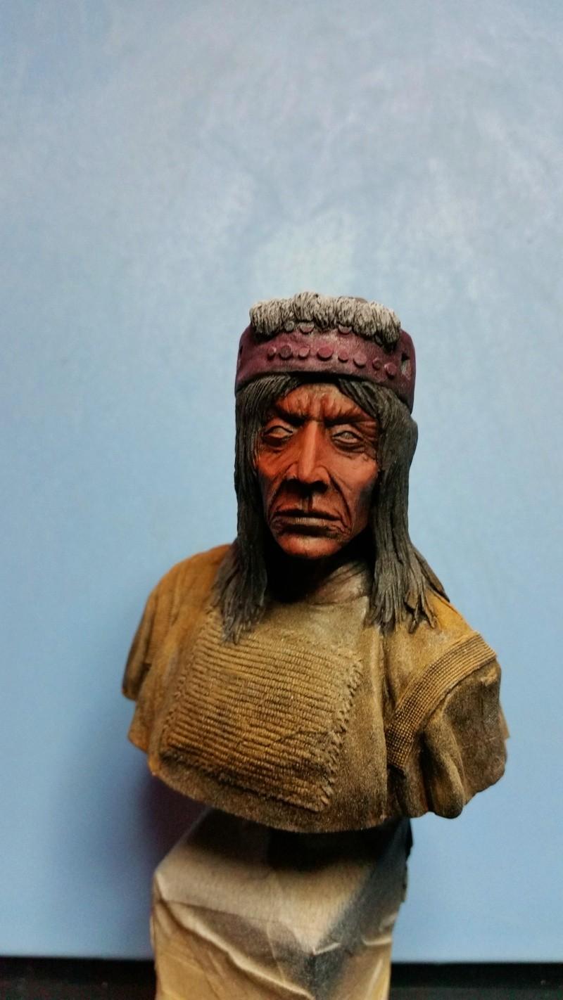 Buste d'indien blackfeet  02011