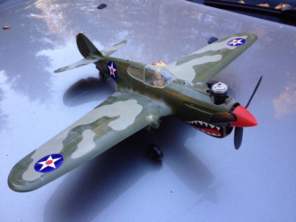 Cox P-40 W/Box 6caafa10
