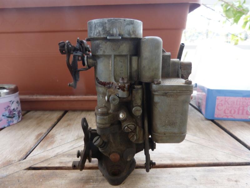 Remise à neuf du carburateur CARTER P1140712