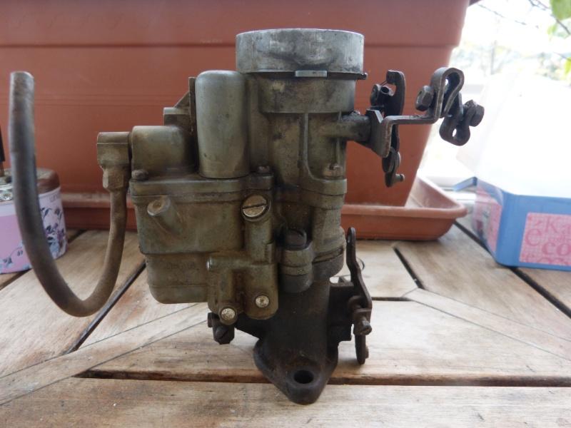 Remise à neuf du carburateur CARTER P1140714