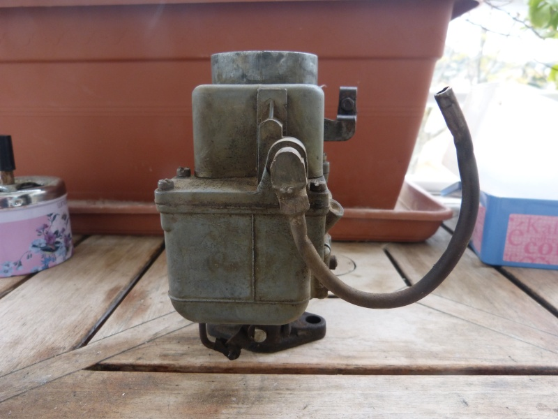 Remise à neuf du carburateur CARTER P1140715