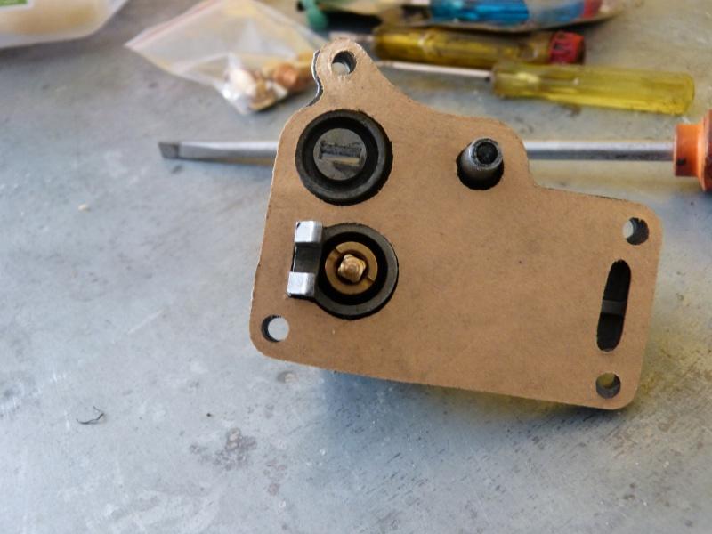 Remise à neuf du carburateur CARTER P1140717