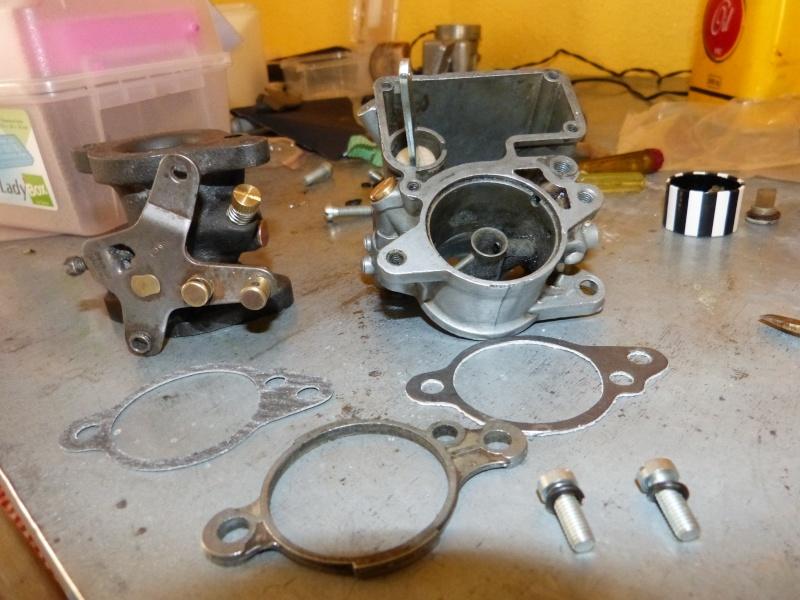 Remise à neuf du carburateur CARTER P1140819