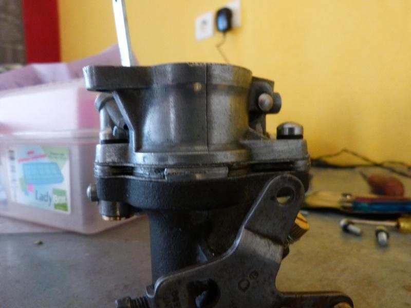 Remise à neuf du carburateur CARTER P1140820