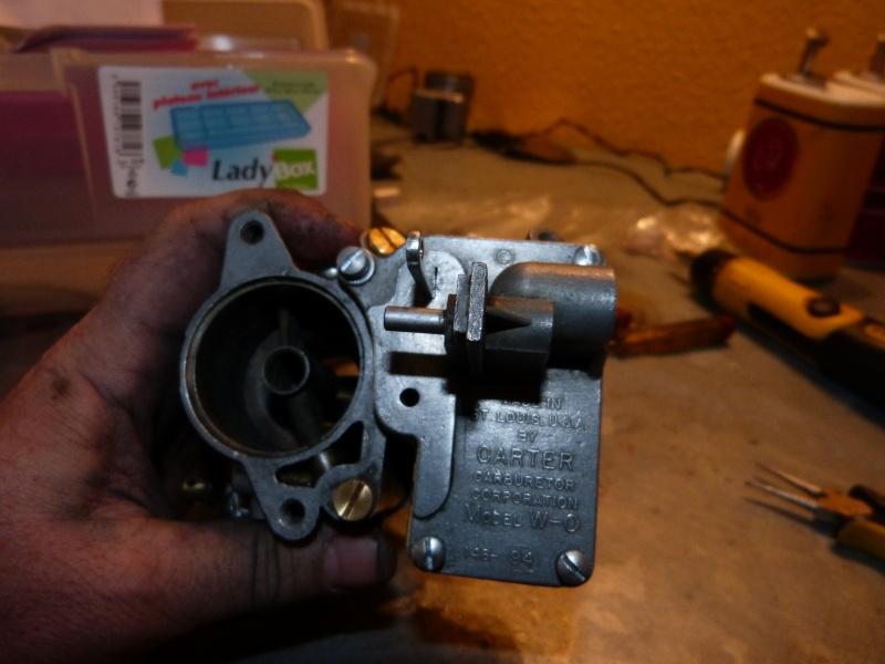 Remise à neuf du carburateur CARTER P1140828