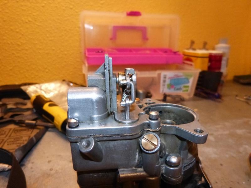 Remise à neuf du carburateur CARTER P1140836