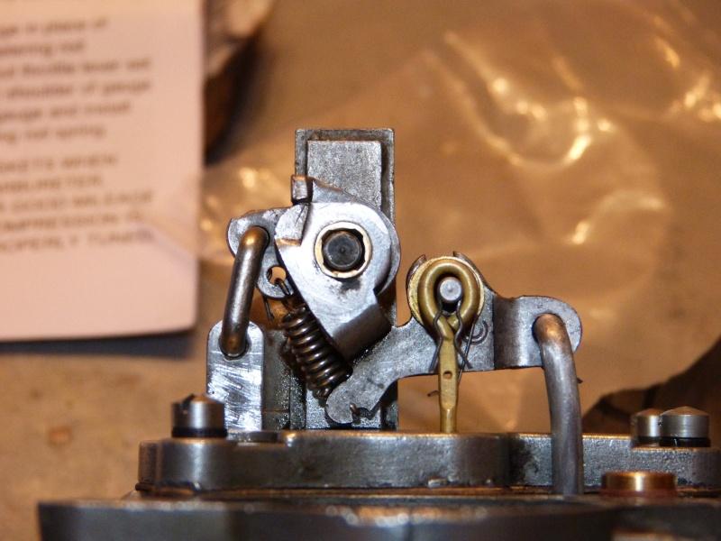 Remise à neuf du carburateur CARTER P1140839