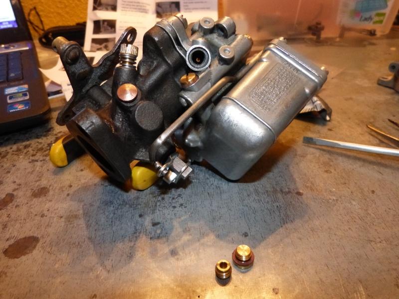 Remise à neuf du carburateur CARTER P1140840