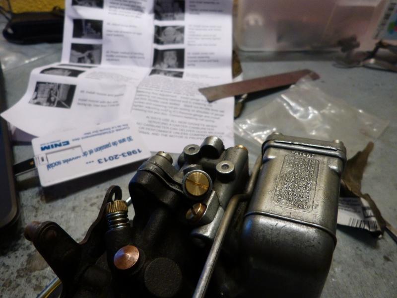 Remise à neuf du carburateur CARTER P1140841