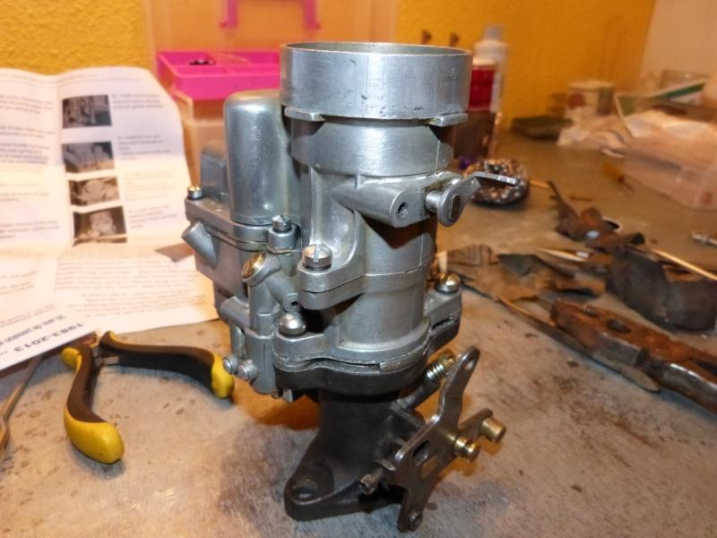 Remise à neuf du carburateur CARTER P1140843