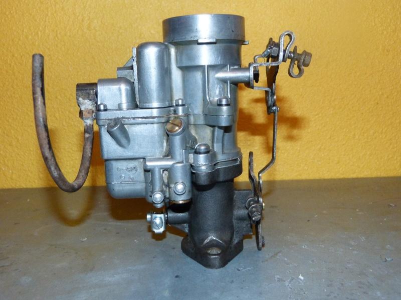 Remise à neuf du carburateur CARTER P1140846