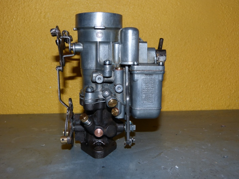Remise à neuf du carburateur CARTER P1140848