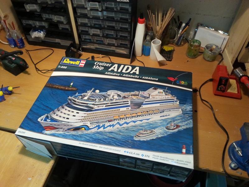 Mein Schiff -Aida Revell 1:400 -Aidabella 20150418