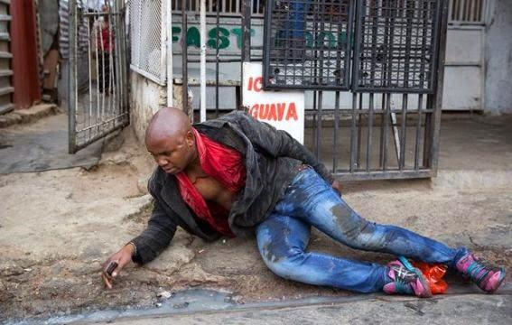 SA Xenophobic Attacks: The brutal death of Emmanuel Sithole  310