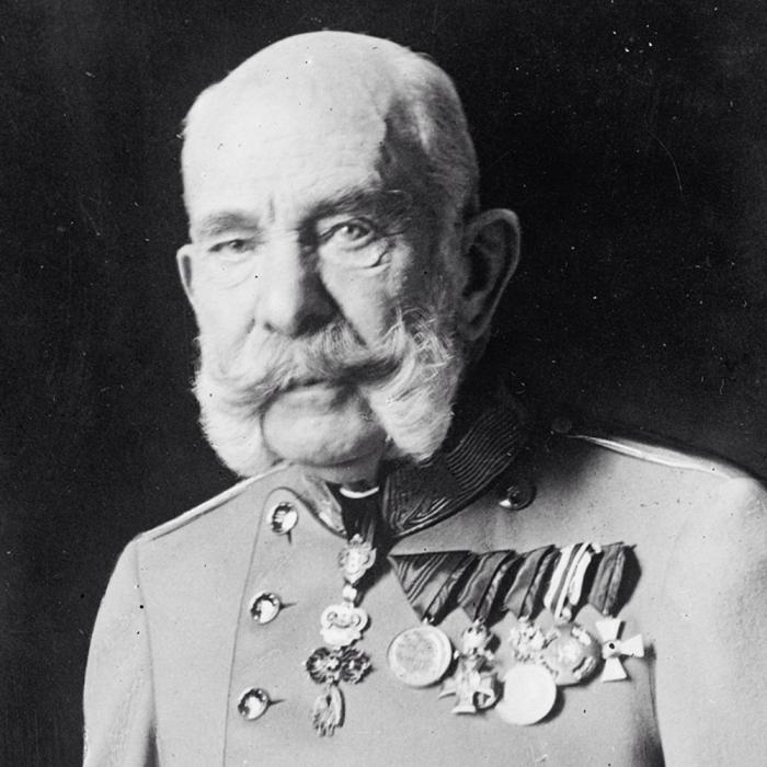 Confidences de Francois Joseph à Freud. Vienne 1915. 18812