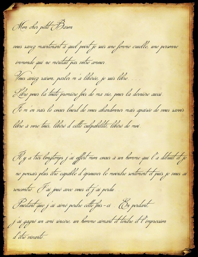 [RP] Confessions intimes à Fontainebleau Lettre11