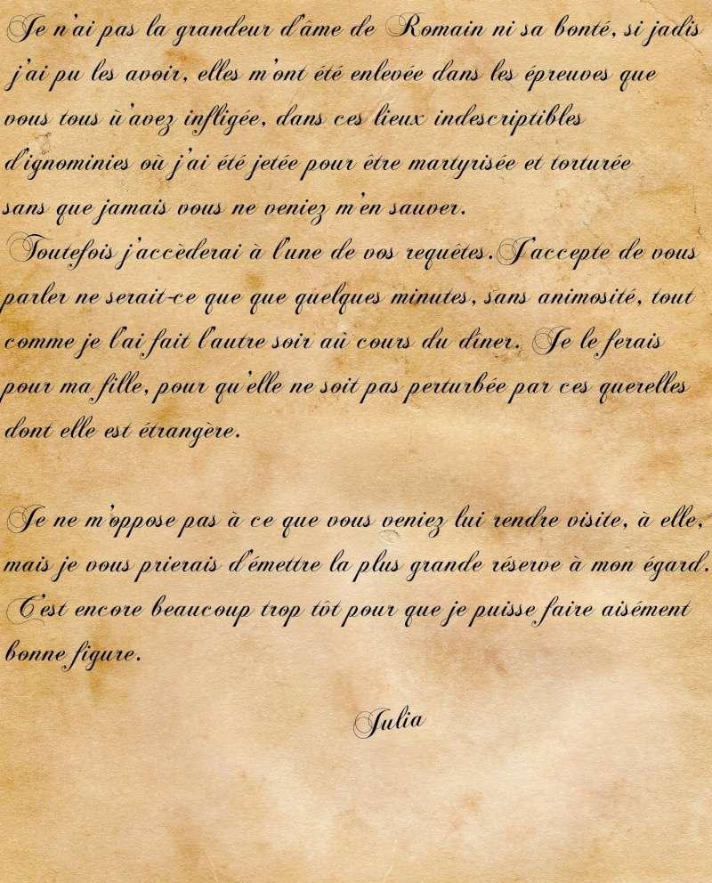[RP] Correspondance ou lettre morte ? Lettre19