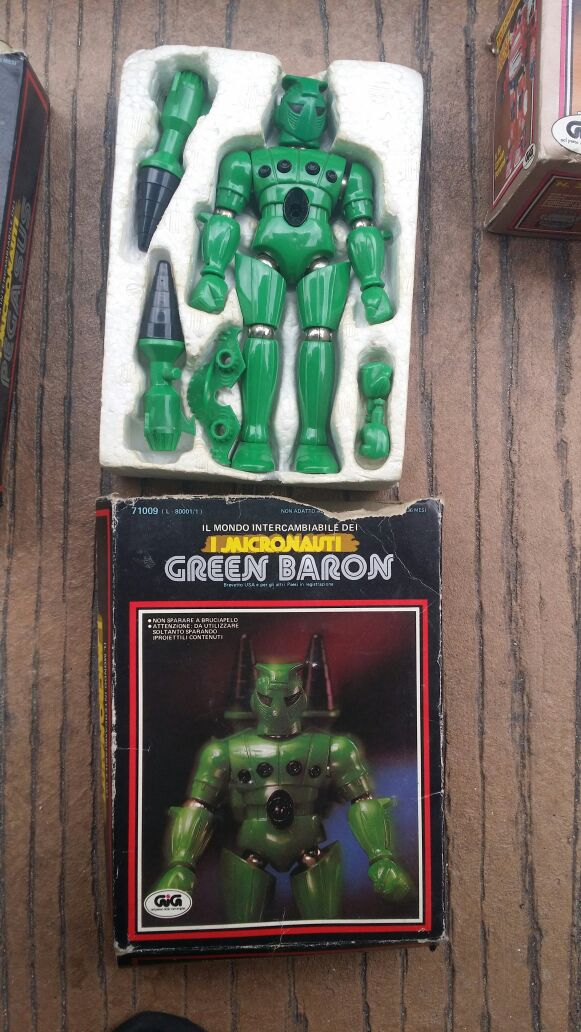 micronauti - Micronauti : Green Baron + Pegasus Img-2032