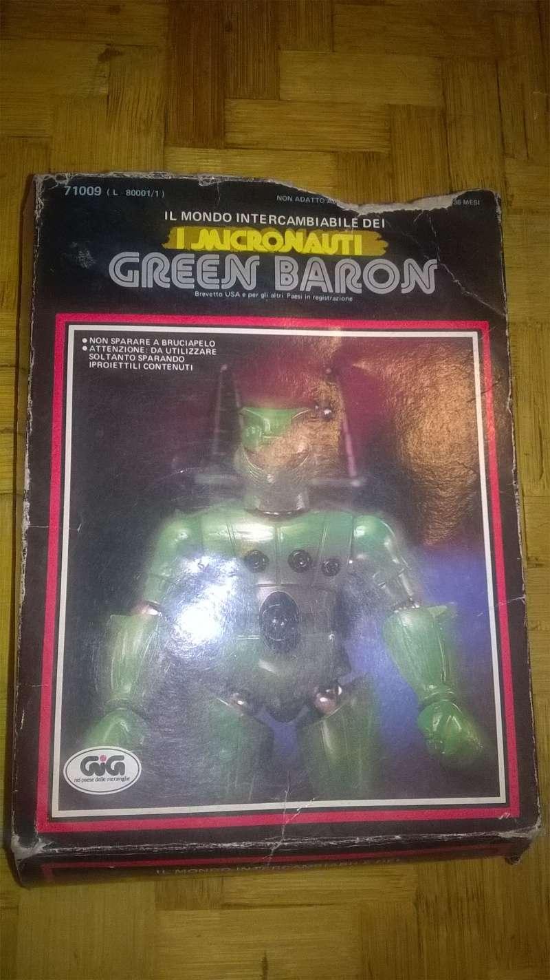 micronauti - Micronauti : Green Baron + Pegasus Wp_20179