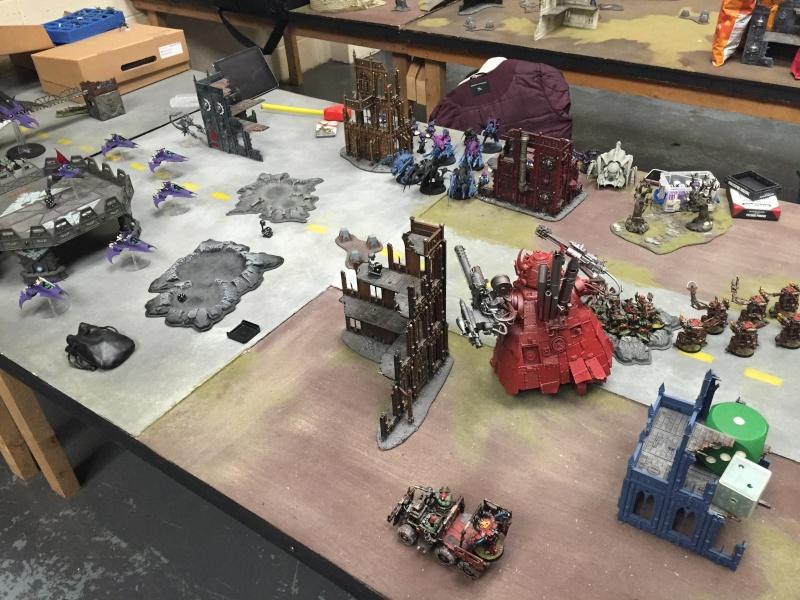 2000pts 3 Way Battle Dark Eldar vs Orks vs Tyranids Img_1410