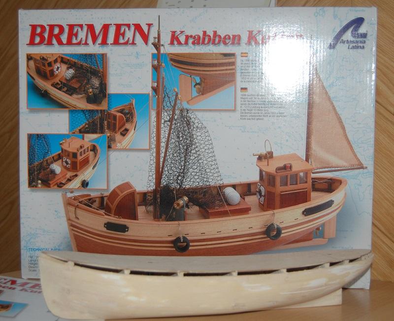 "Krabben Kutter ""Bremen"" / Artesania Latina Bre_4911"