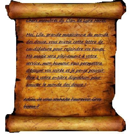 Adventum est magus Lettre10