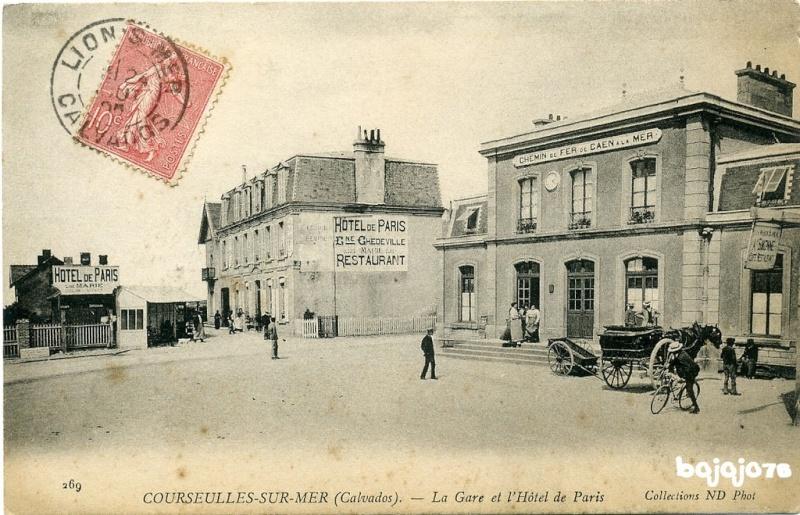 Le chemin de fer Caen-La mer 13199010