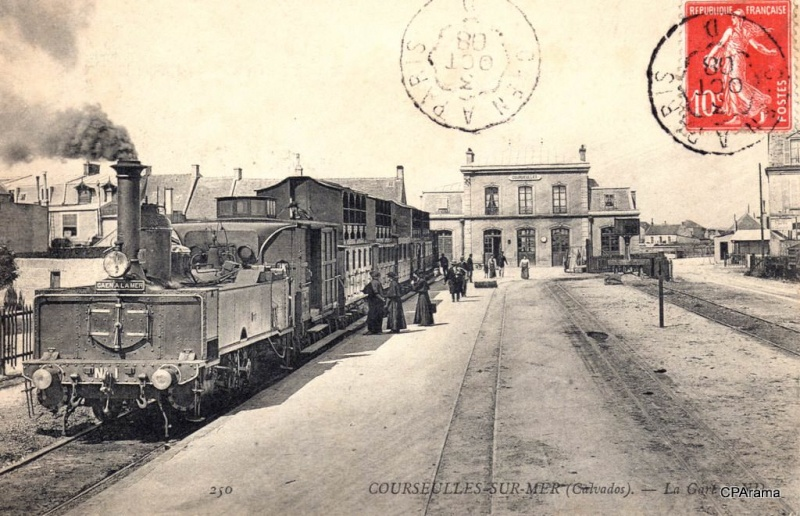 Le chemin de fer Caen-La mer 13291410
