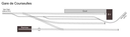Le chemin de fer Caen-La mer Plan_g10