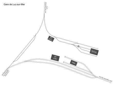 Le chemin de fer Caen-La mer Plan_g11
