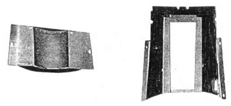 Carter de protection des cotes du moteur 32638 Caches10