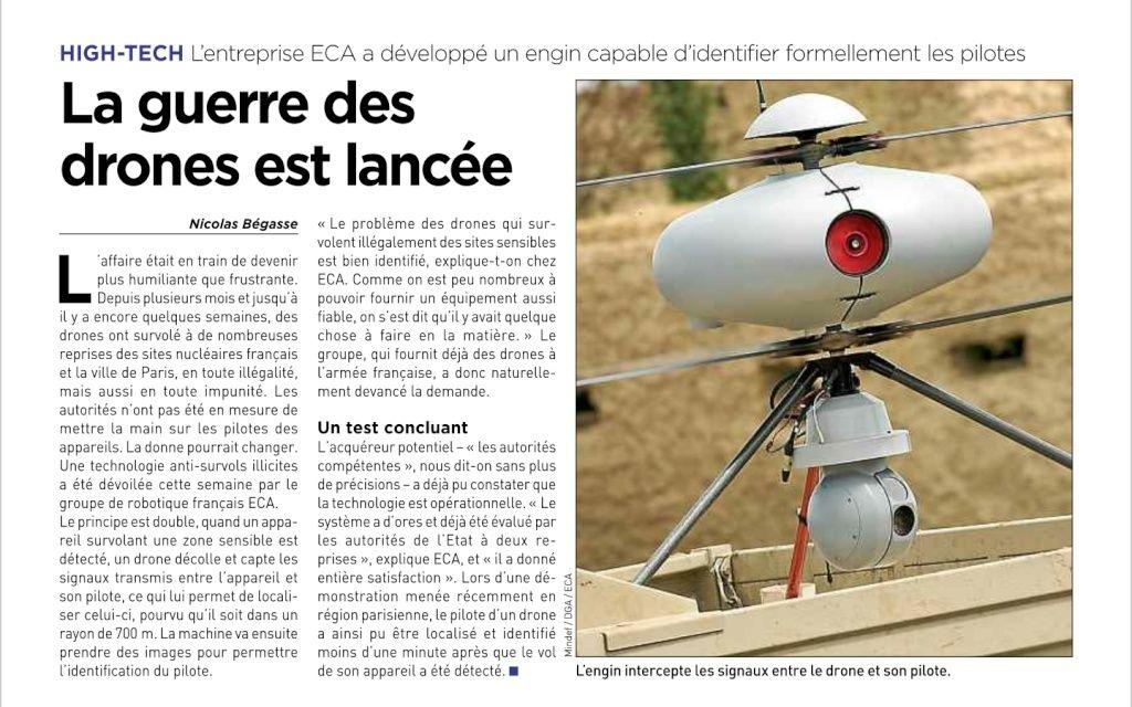 La guerre des drone et lancée.  Screen10