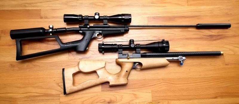 recherche carabine/pistolet compact dans les 300-500 € type Kalibrgun, benjamin marauder mais a levier ou multi pompe 2250s10