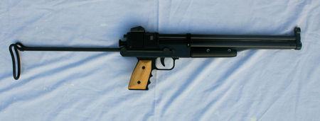 recherche carabine/pistolet compact dans les 300-500 € type Kalibrgun, benjamin marauder mais a levier ou multi pompe Bam5-010