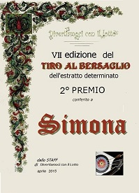 Vincitori a Tiro Bersaglio2015 HLEUT,SIMONA,SARA Attest16