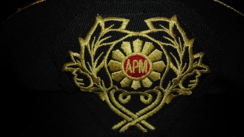 Macedonian officer visor cap Imag1016