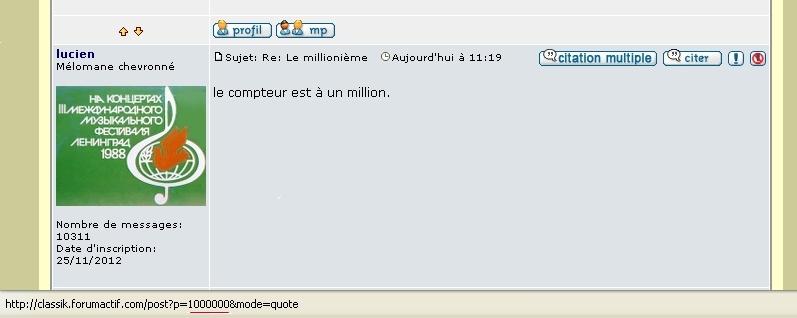 Le millionième - Page 2 Millio10